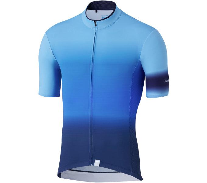 SHIMANO MIRROR COOL dres, modrý, M