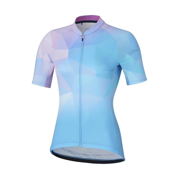 SHIMANO MIZUKI dres, dámský, modrá/růžová, S