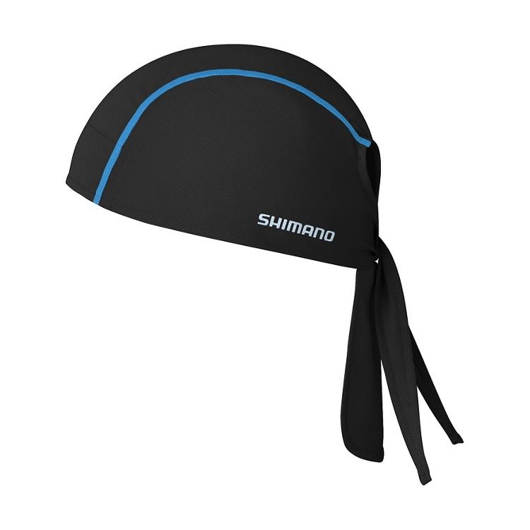 SHIMANO BANDANA, černá, one size