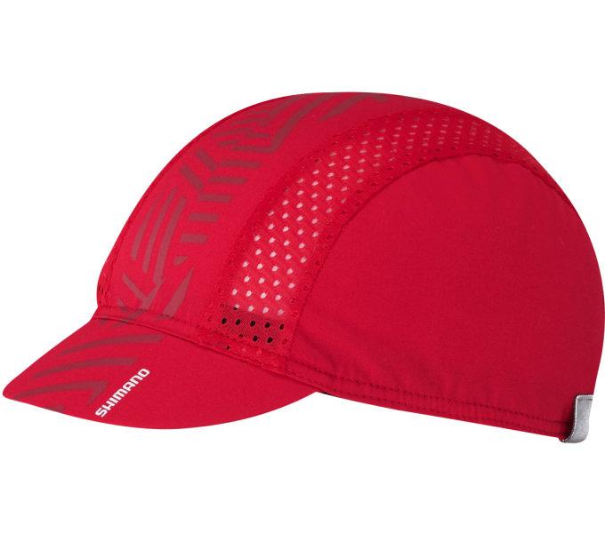 SHIMANO RACING CAP, červená, one size