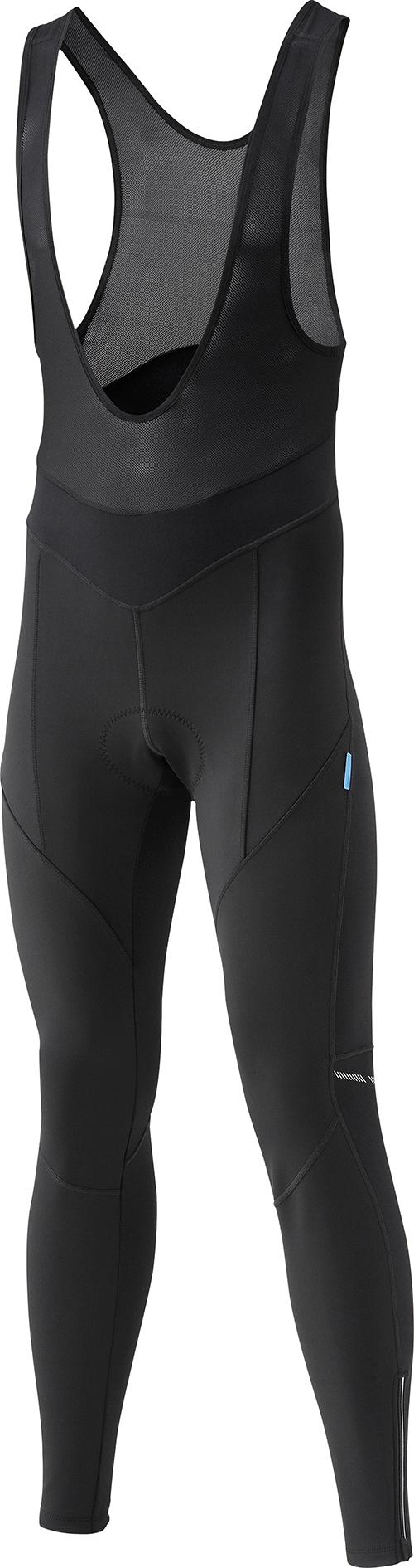 SHIMANO Performance Windbreak kalhoty s laclem, černá, M