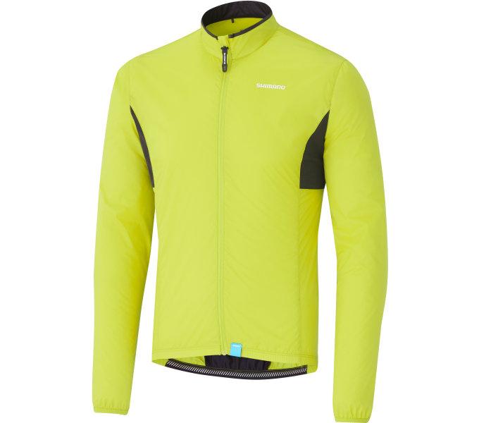 Shimano COMPACT WINDBREAKER bunda, neonově žlutá, S