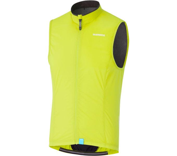 Shimano COMPACT WIND vesta, neonově žlutá, M