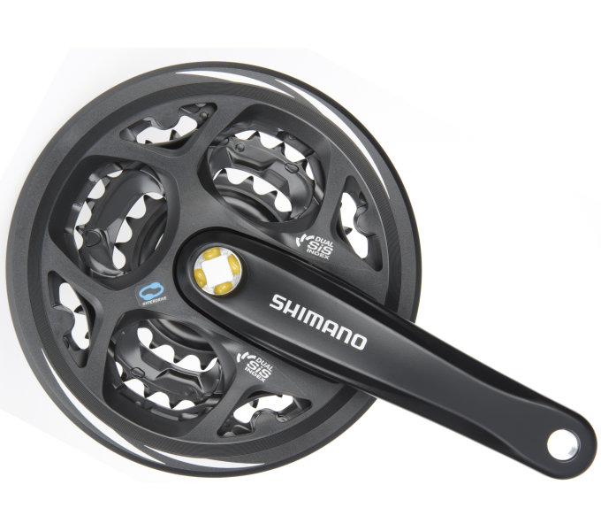 Shimano kliky ALTUS FC-M311 4hran 3x7/8 175 mm 42x32x22z s krytem černé