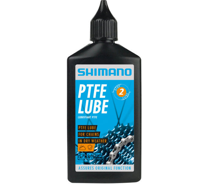 SHIMANO olej s PTFE, láhev 100ml, karton 48x