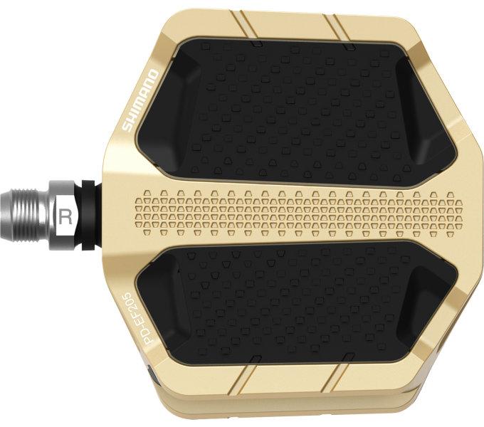 Shimano PD-EF205 Flat zlaté