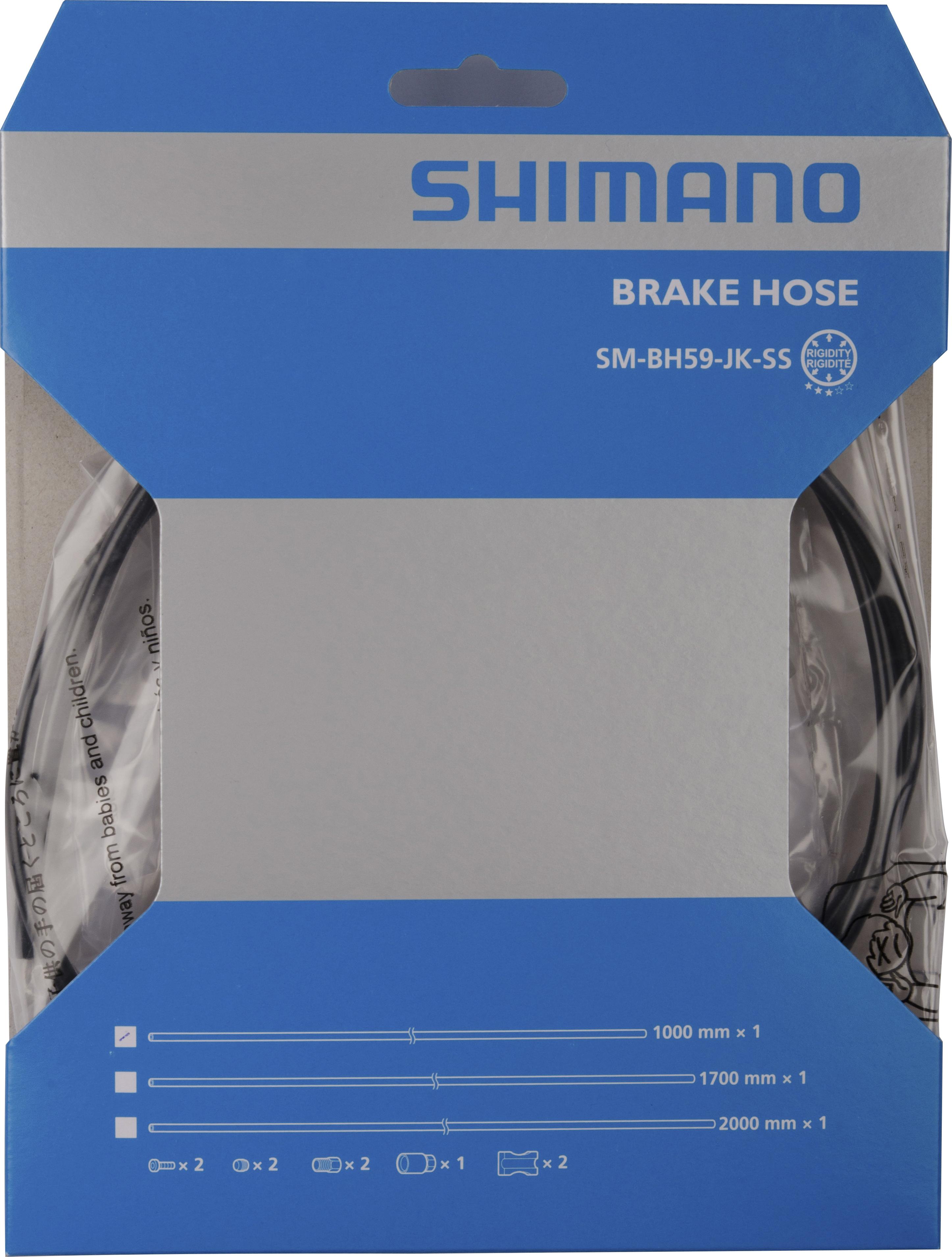 Vedení kotouc.brzdy Shimano SM-BH 591000mm,zkrátitlné,pro BR-M