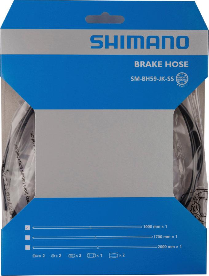 Vedení kotouc.brzdy Shimano SM-BH 591700mm,zkrátitlné,pro BR-M