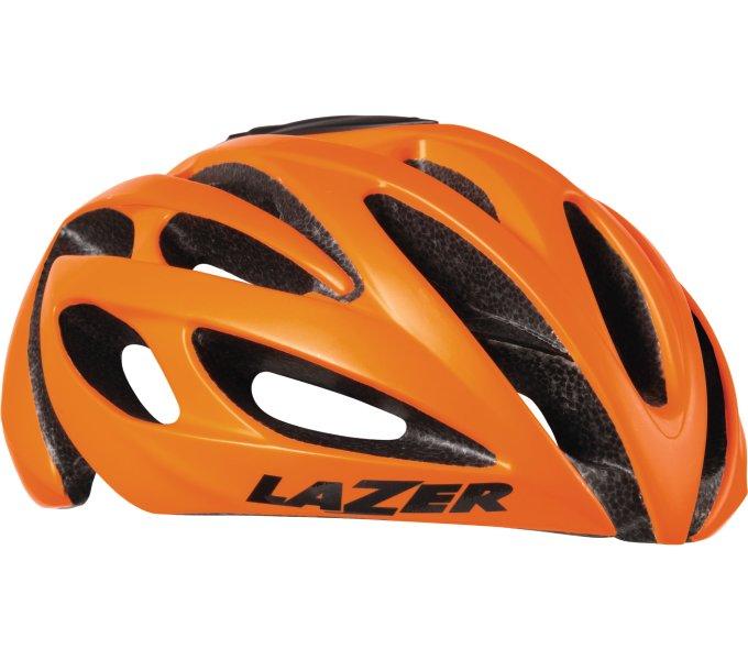 LAZER přilba silniční O2 (LZB-05) CE/mat Flash oranžová (M-L)
