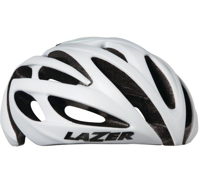 LAZER přilba silniční O2 (LZB-05) CE/mat bílá (M-L)