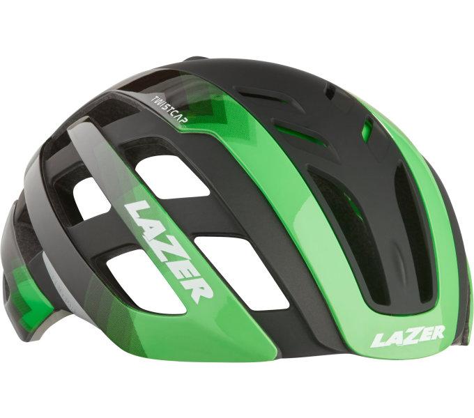 LAZER přilba Century CE/ flash zelená M + led