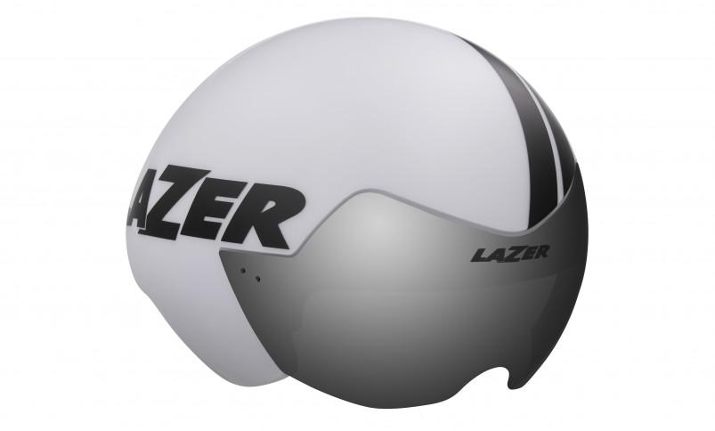 LAZER přilba VICTOR CE/ matná bílo černá M-L