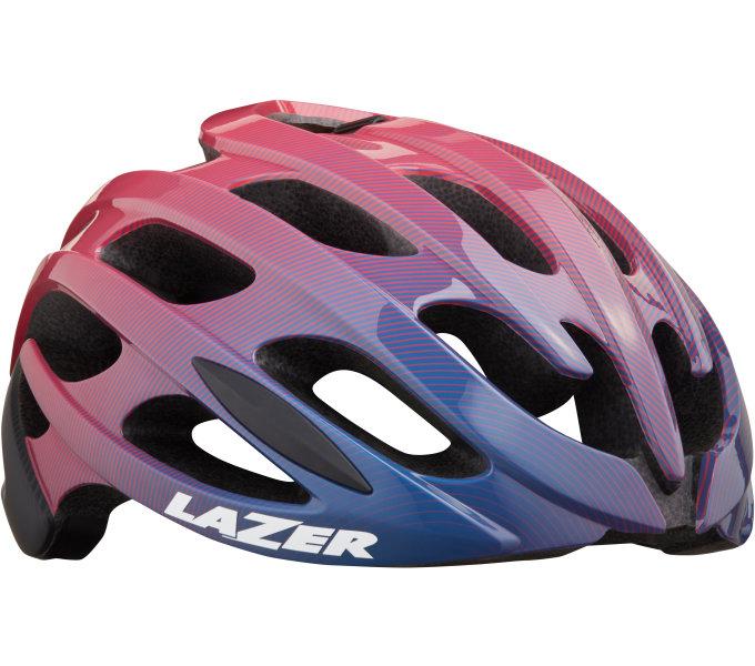 LAZER přilba Blade+ CE-CPSC/ fialovo růžová STRIPES M