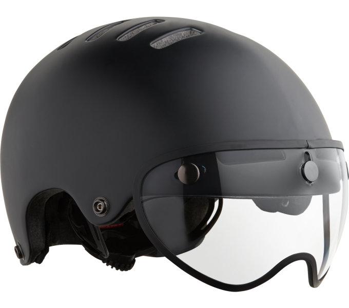 LAZER přilba Armor Pin CE/ matná černá S + led
