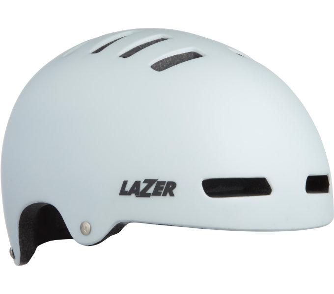 LAZER přilba Armor CE/ matná bílá L + led