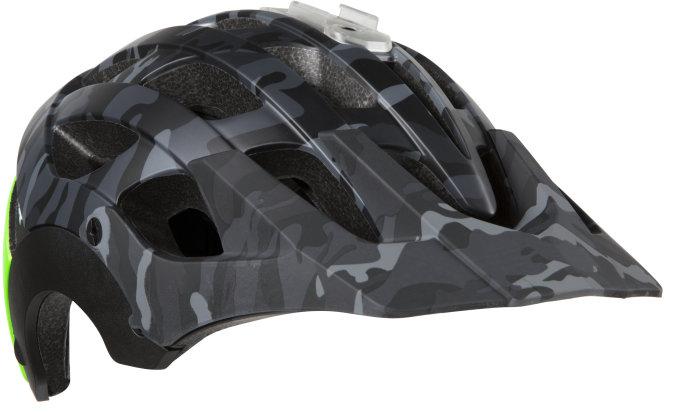 LAZER přilba MTB REVOLUTION Camo černá/Flash zelená S 52-56 cm