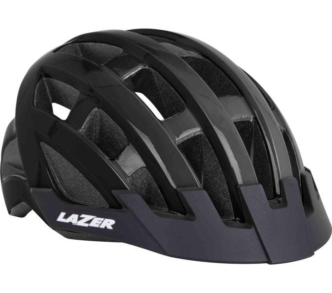 LAZER přilba COMPACT, černá, unisize (54-61 cm)