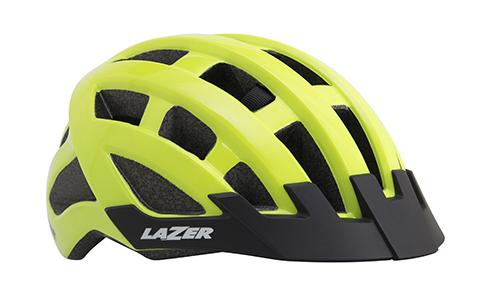 LAZER přilba COMPACT, flash žlutá, unisize (54-61 cm)
