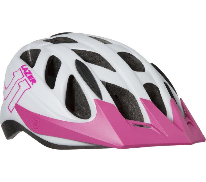 LAZER přilba dětská J1 bílá Pink (+Insectnet)