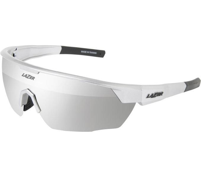 LAZER brýle EDDY, lesklá stříbrná