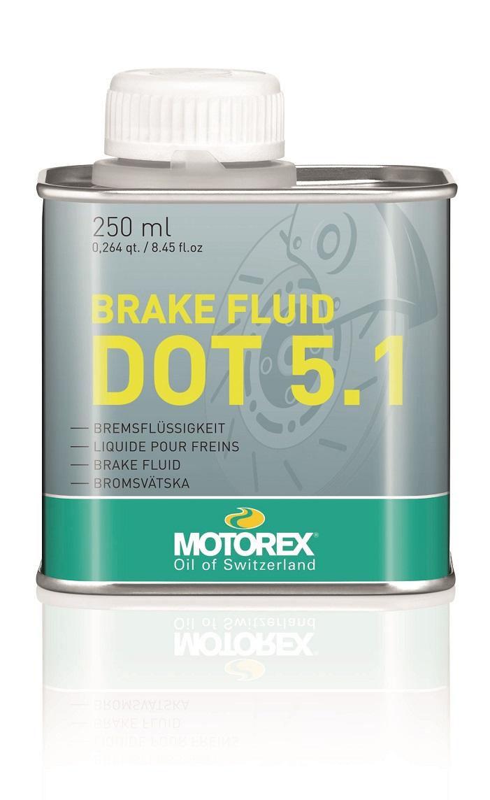 MOTOREX BRAKE FLUID DOT 5.1 250 ml