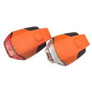 GUEE Tadpole USB zadní světlo/blikačka-oranžový