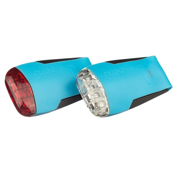 GUEE Tadpole USB SET př+z světlo/blikačka-modrý