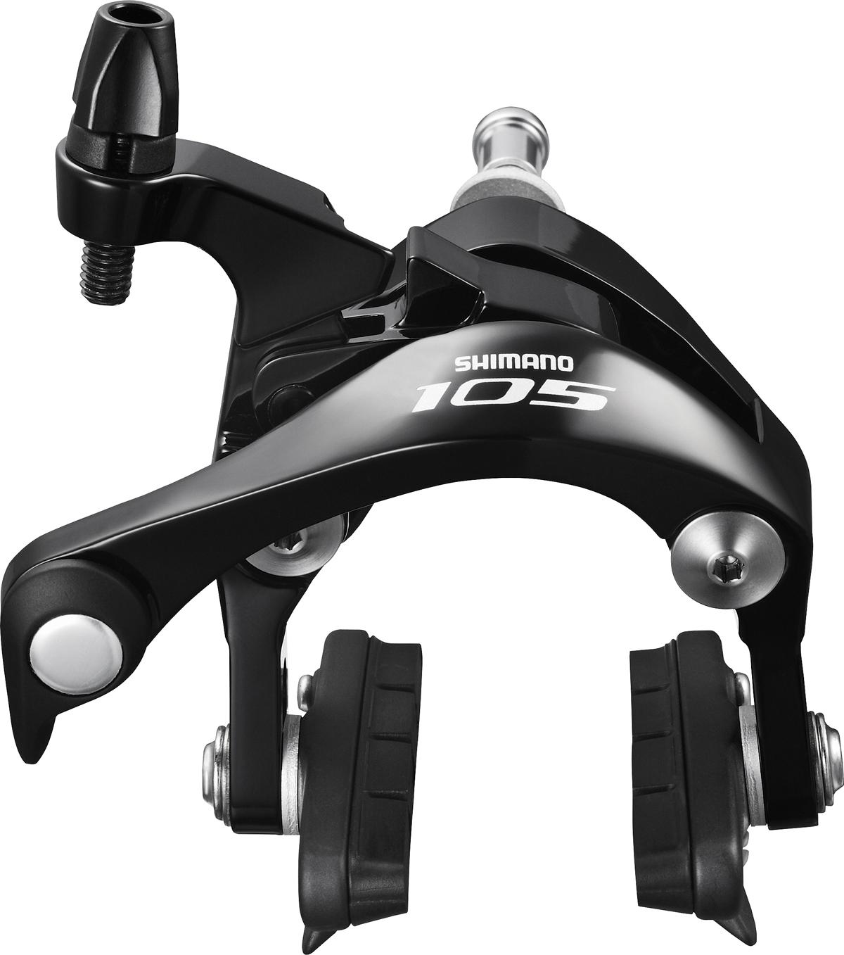 SHIMANO brzda 105 BR-5800 silniční zadní R55C4 černá šr:10,5 mm bal