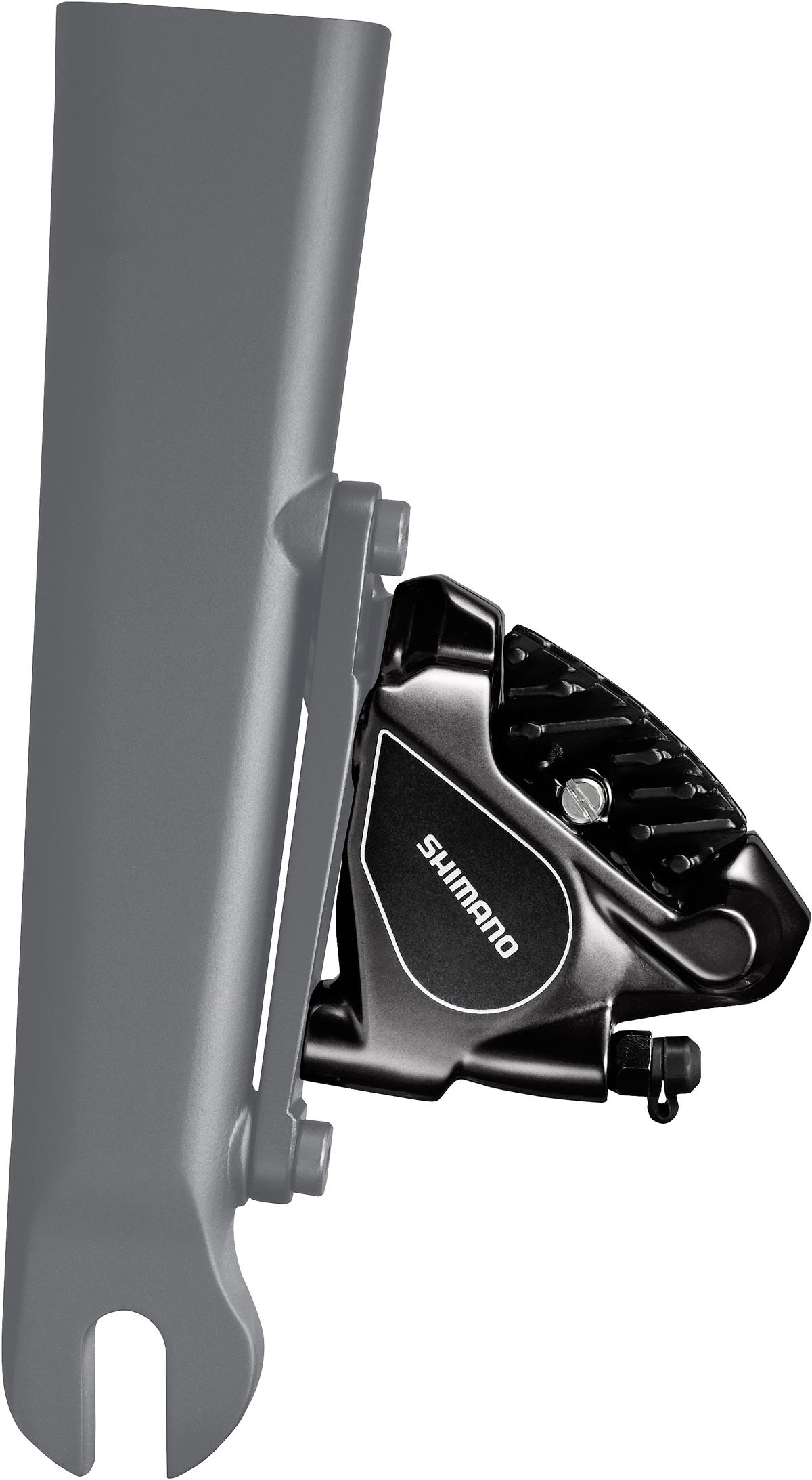 SHIMANO brzda Sil-ostatní BR-RS805 kotouč přední hydraul třmen polymer + chladič FLAT MOUNT