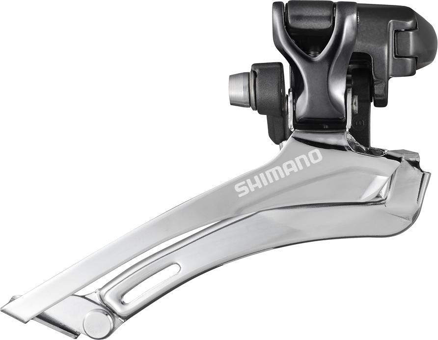 Shimano přesmykač Sil-ostatní FD-CX70 Sil-cyclocross pro 2x10 obj 31,8/28,6 46/52 z