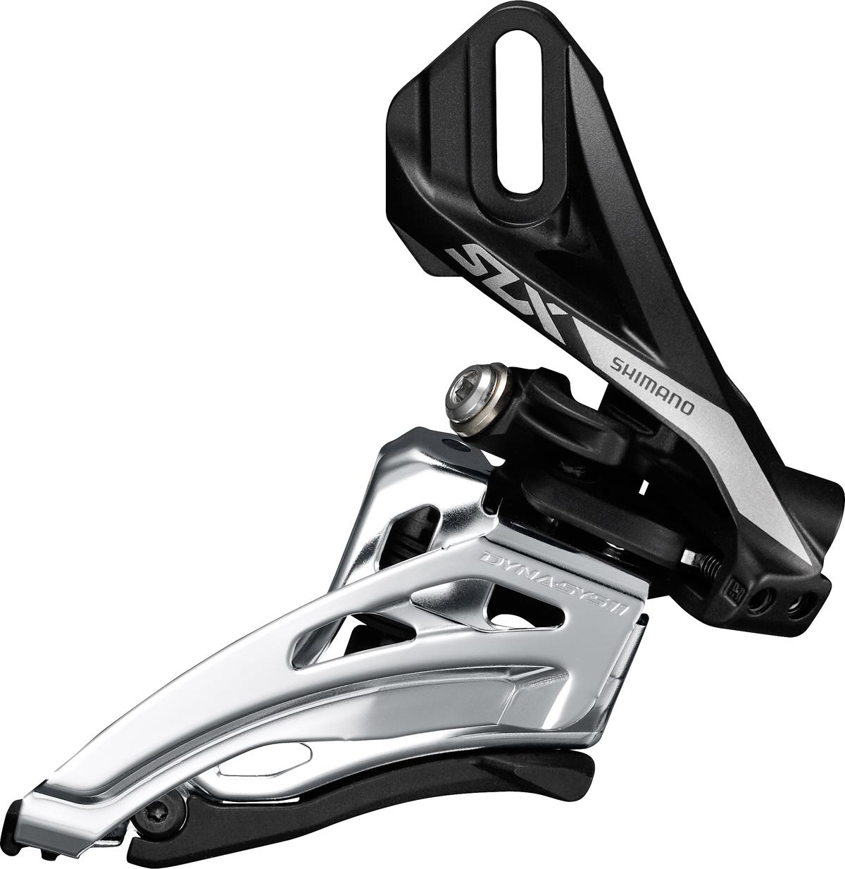 SHIMANO přesmykač SLX FD-M7020 pro 2x11 př mont D-typ Side-swing front pull pro 34-38z bal