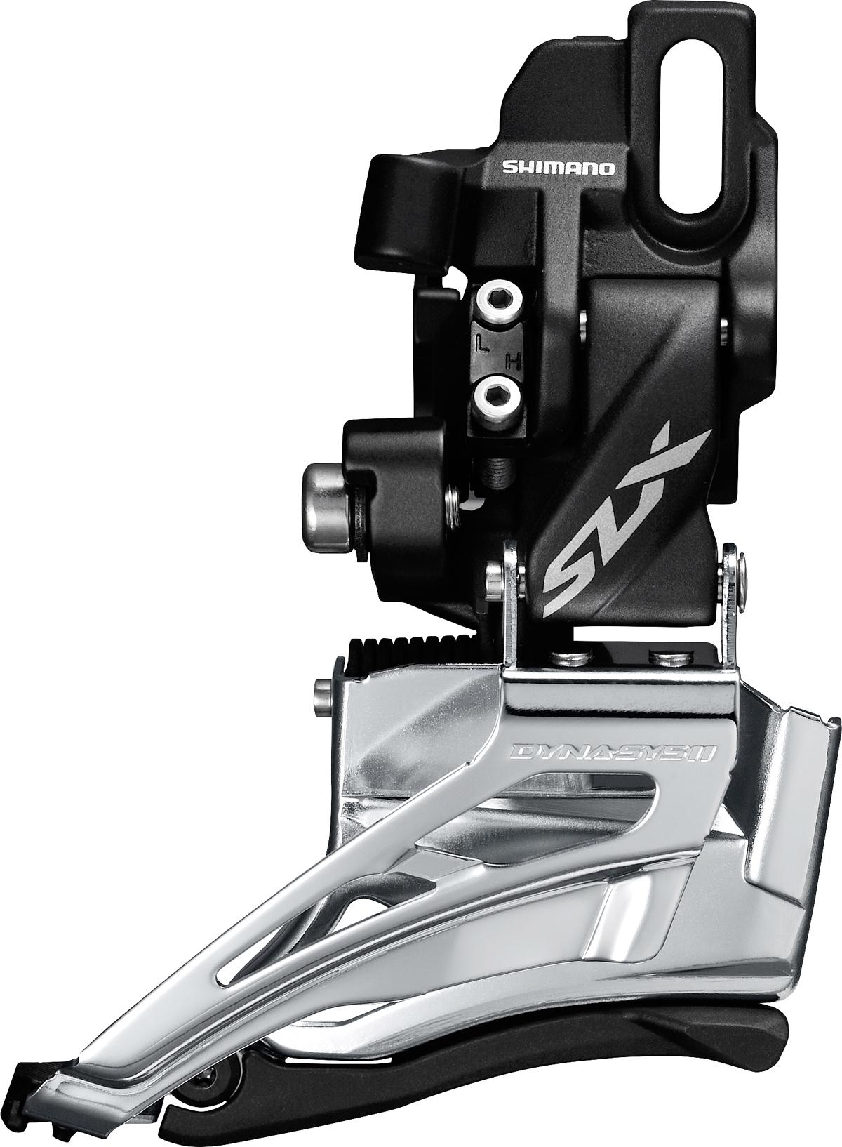 Shimano přesmykač SLX FD-M7025 MTB pro 2x11 př mont D-typ Down-swing dual pull 34/38 z