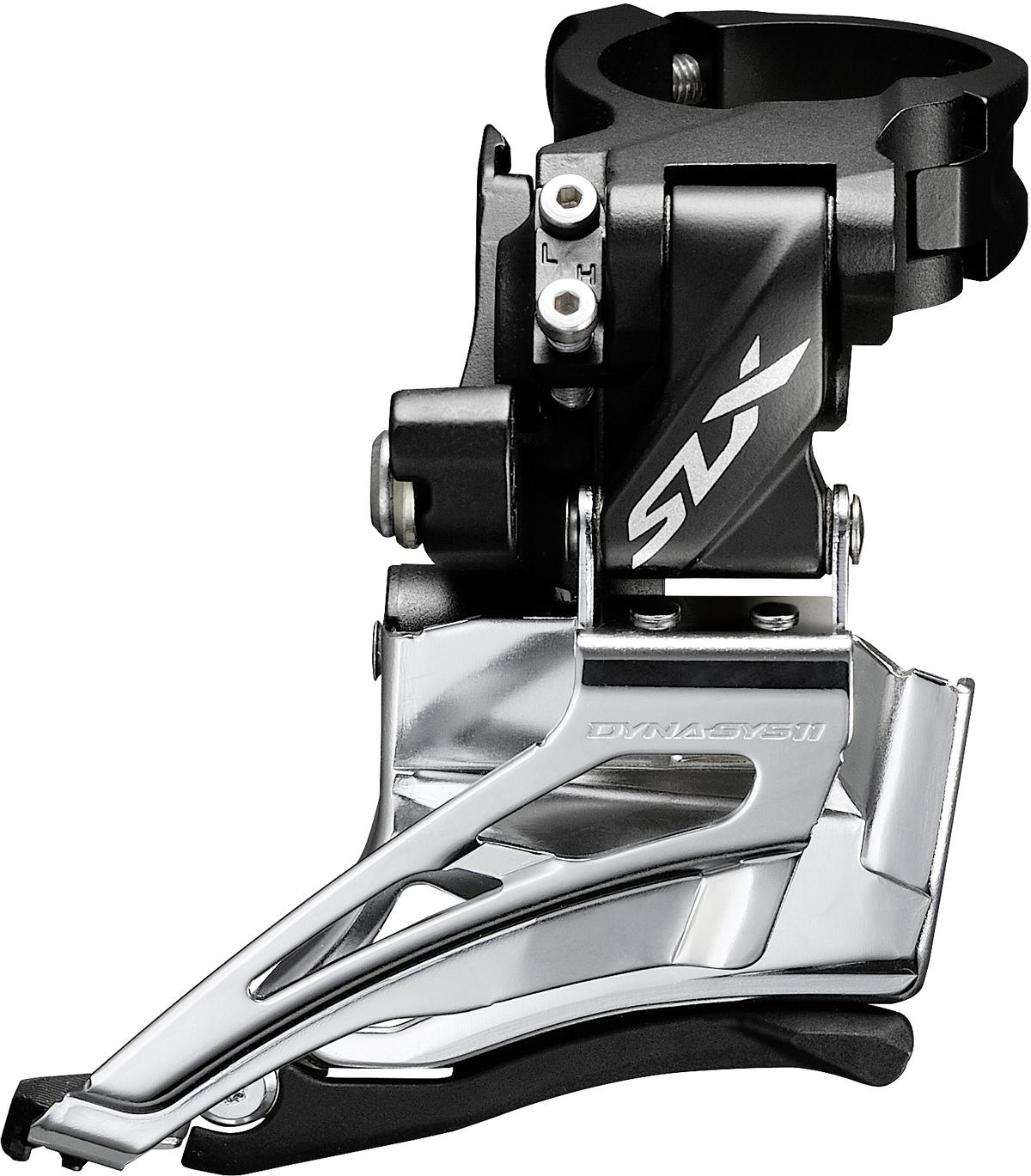 SHIMANO přesmykač SLX FD-M7025 MTB pro 2x11 obj. 34,9/31,8 + 28,6 Down-swing dual pull 34/38 z
