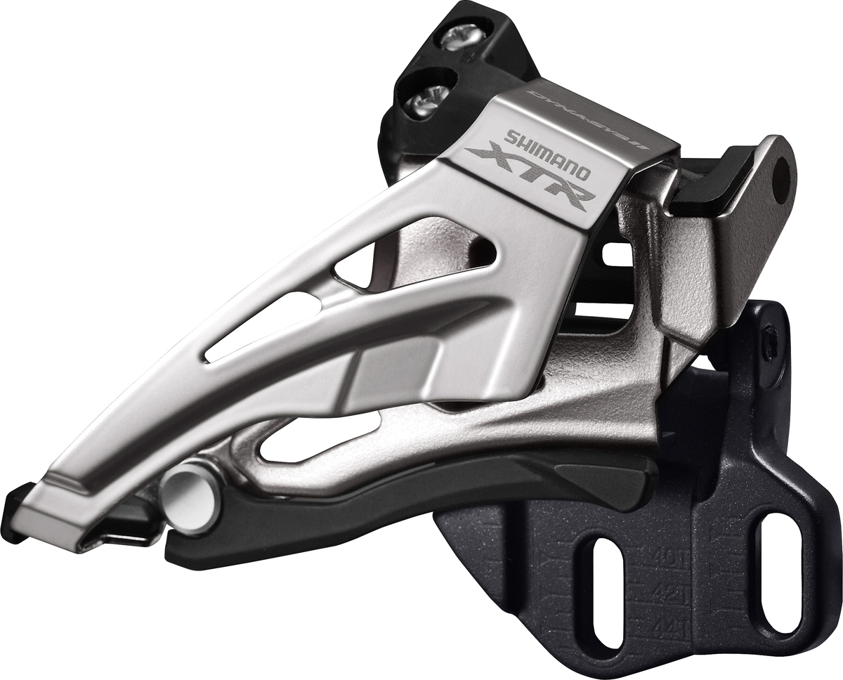 SHIMANO přesmykač XTR FD-M9020 MTB pro 2x11 př mont E-typ bez BB Top-swing down-pull 34/38 z