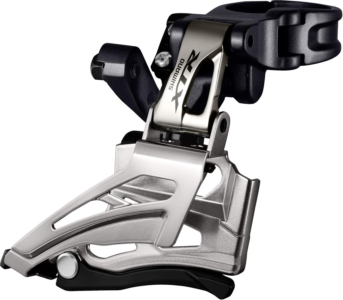 SHIMANO přesmykač XTR FD-M9020 MTB pro 2x11 obj. 34,9/31,8 + 28,6 Down-swing dual pull 34/38 z