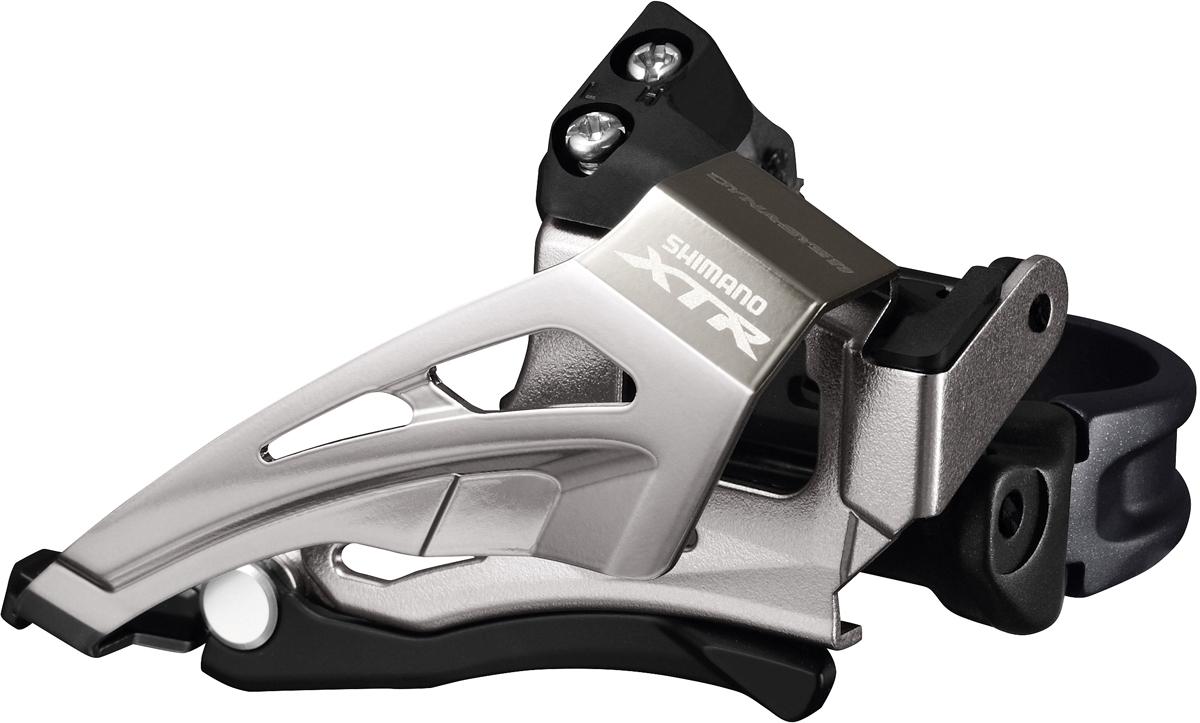 SHIMANO přesmykač XTR FD-M9020 MTB pro 2x11 obj. 34,9/31,8 + 28,6 Top-swing down-pull 34/38 z