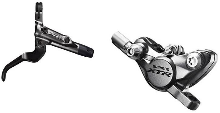 Shimano kot brzd-set XTR BR-M9000-KIT zadní/BL-M9000 bez adapt polymer SMBH90SBM/1700mm bal