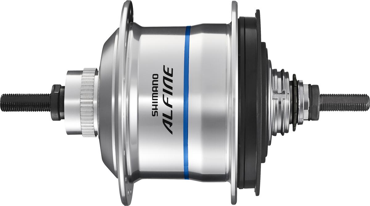 SHIMANO nába s vnitřním řazením 11 rychl pro kot. Brzdu SG-S705 Alfine Di2 36 děr 135x178 mm stř