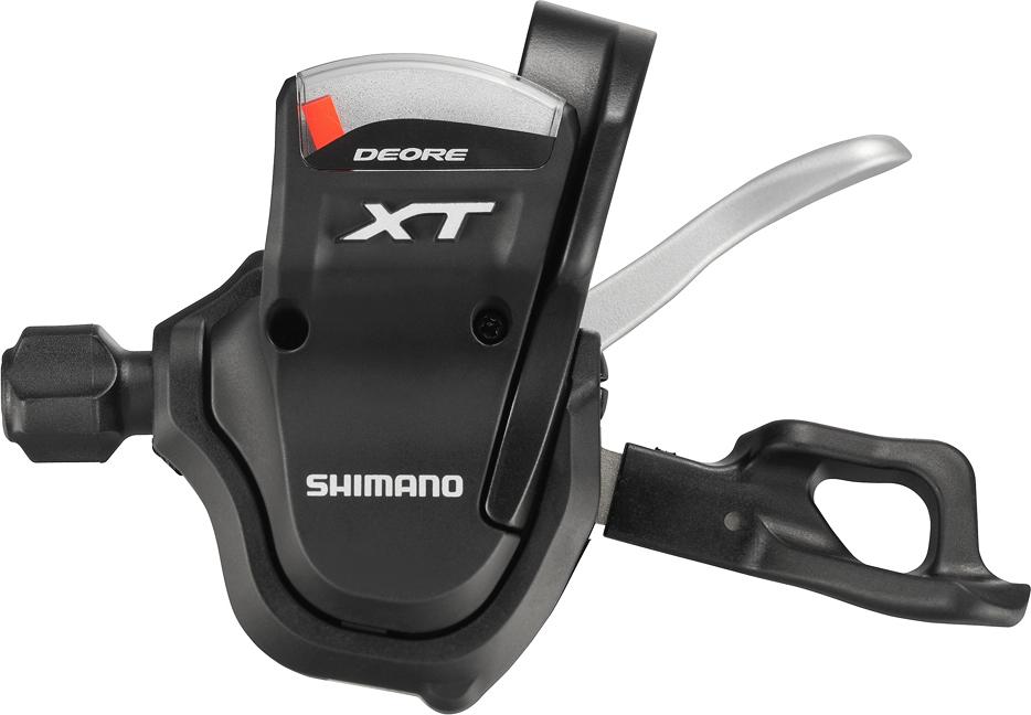 SHIMANO řadící páčka XT SL-M780 levá 2/3 rychl objímka s ukaz bal