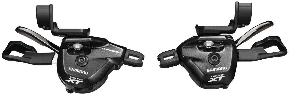 SHIMANO řadící páčka XT SL-M8000 pár 2/3 rychl + 11 rychl I-spec II bez ukaz bal