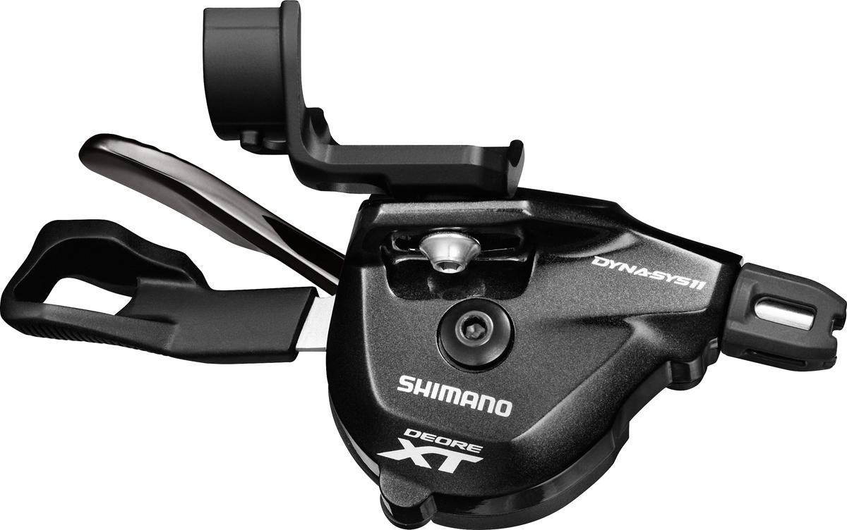 SHIMANO řadící páčka XT SL-M8000 pravá 11 rychl I-spec II bez ukaz bal