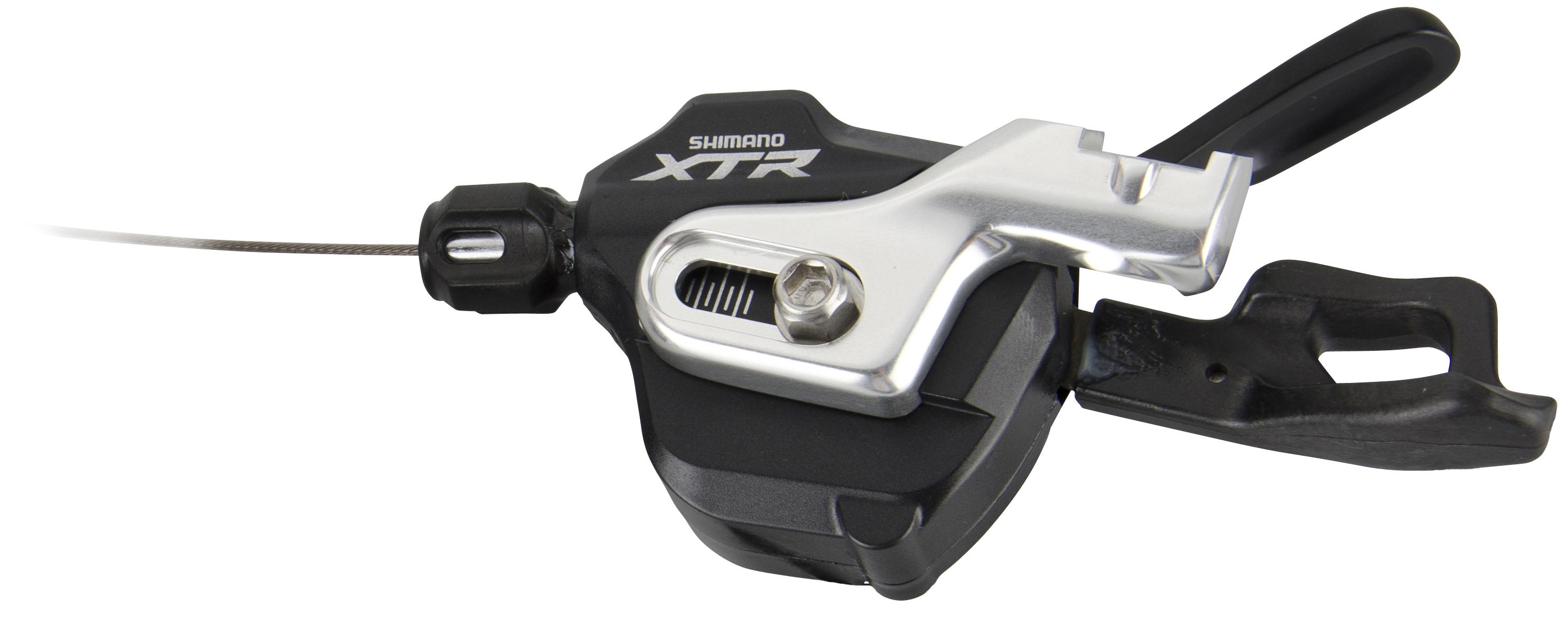 SHIMANO řadící páčka pravá XTR SL-M980-B-I 10 rychl lanko 2050 mm, přímá montáž na BL model 2014