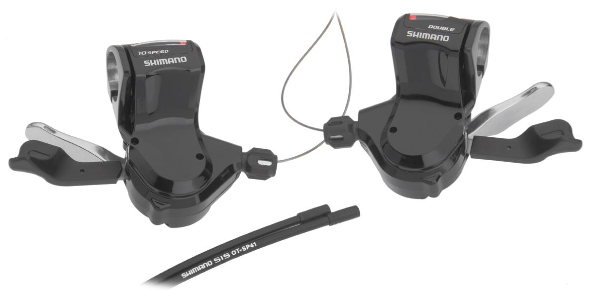 SHIMANO řadící páčky SL-R780-L pro rovná řídítka, 2x10 rychl, černé