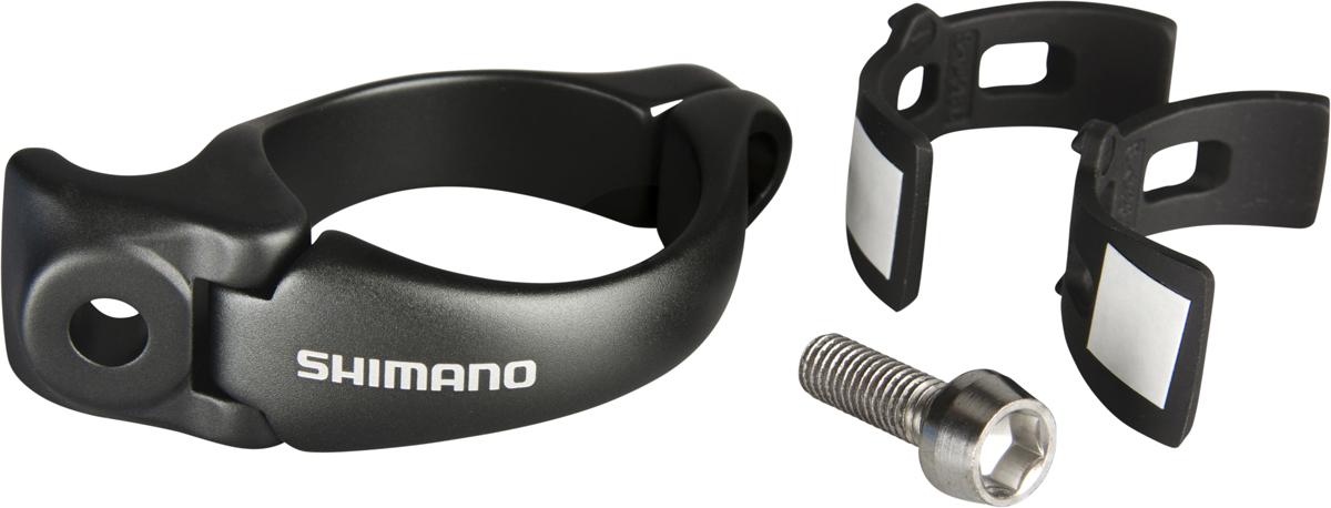SHIMANO adaptér (objímka) pro FD-9070-F SM-AD90 M-velikost=31,8mm + S-velikost=28.6mm adaptér bal