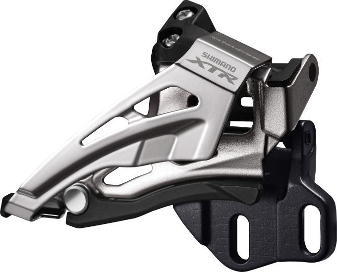 SHIMANO přesmykač XTR FD-M9020 MTB pro 2x11 př mont D-typ Down-swing dual pull 34/38 z