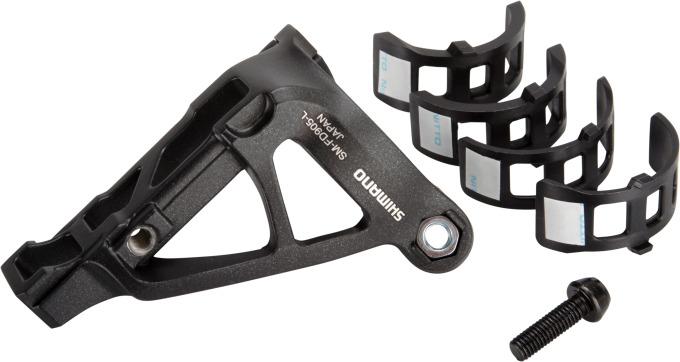 Adapter Shimano p. Presmykac Deore XTDi2SMFD905LX ,cerná p.montáž na objímku
