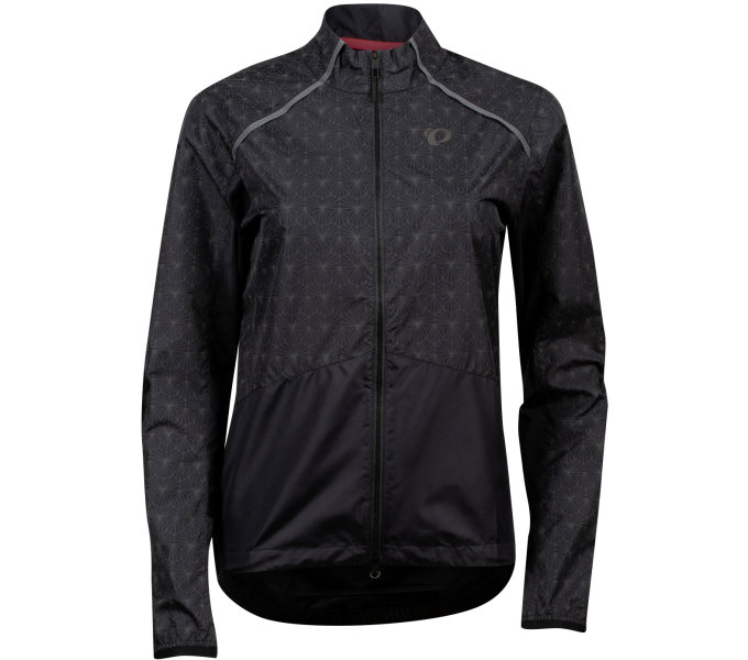 PEARL iZUMi BIOVIZ BARRIER dámská bunda, černá/REFLECTIVE DECO S