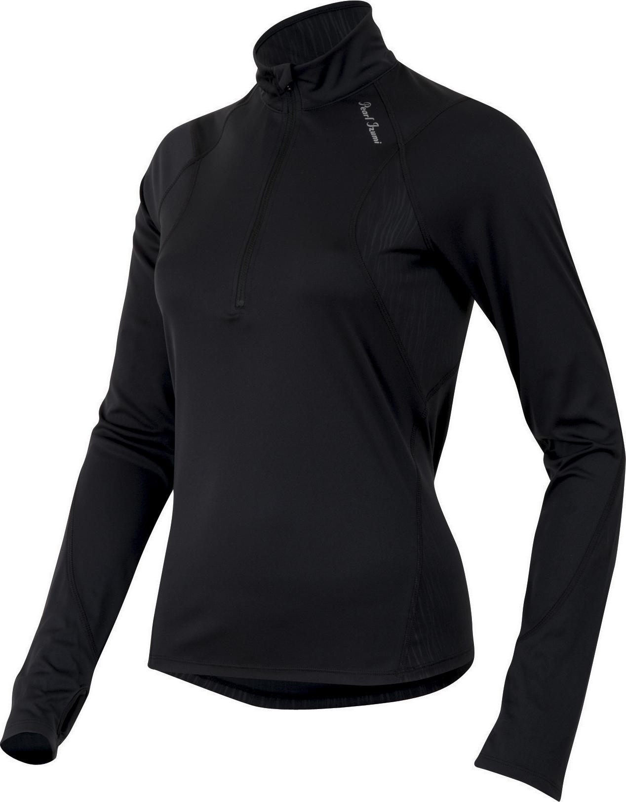 PEARL iZUMi W FLY dres s dlouhým rukávem, černá, XL