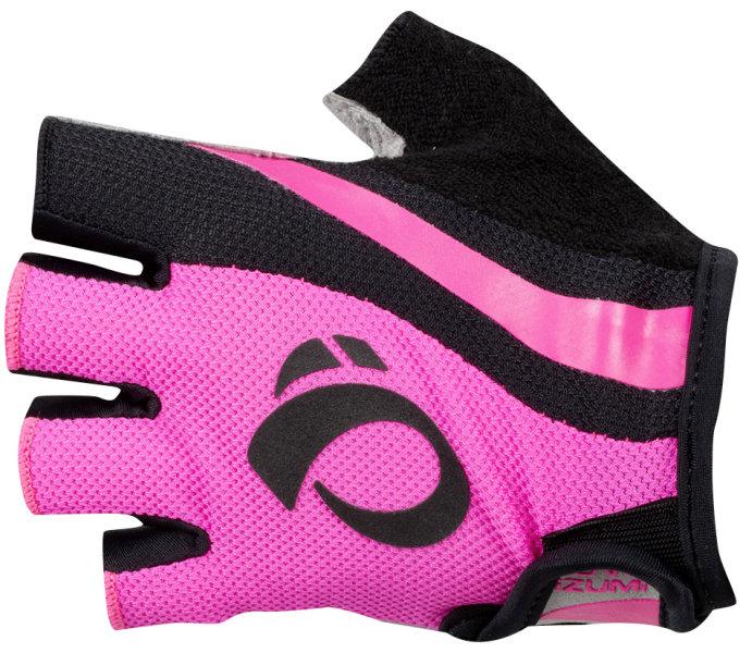 PEARL iZUMi W SELECT rukavice, SCREAMING růžová/černá, L