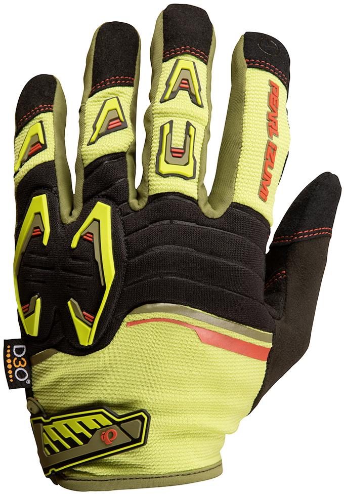 PEARL iZUMi LAUNCH rukavice, CITRON / černá, L
